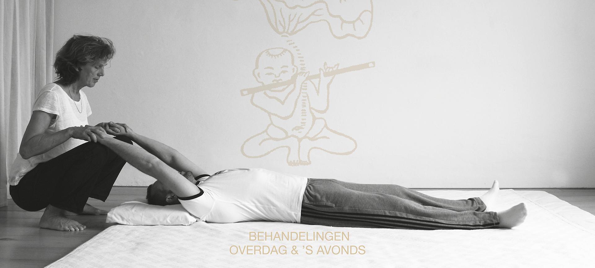 Shiatsu en reiki behandeling gegeven door Kerstin van Wijk in Amsterdam oost